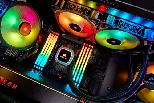 Corsair H100i RGB PLATINUM AIO Liquid CPU Cooler