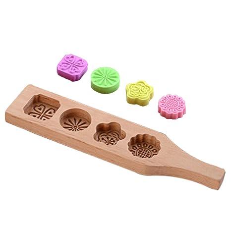 Amazon.com: WasonD Moldes de silicona para sellos de ...