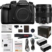 Panasonic Lumix DC-GH5 Mirrorless Micro Four Thirds Digital Camera + Panasonic interchangeable lens LUMIX G X VARIO 12-35mm / F2.8 II ASPH. / POWER O.I.S. [Micro Four Thirds - Expo Accessories Bundle