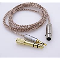 1.2M 5N OCC Copper Hybrid Silver plated Hi-End HIFI Cable Headphone Upgrade Cable for AKG K272 K242 K702 Q701