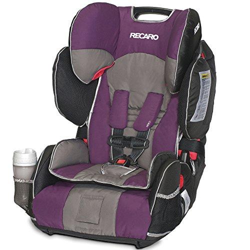 Seat Combination Booster Car - RECARO Performance SPORT Combination Harness to Booster Car Seat, Plum