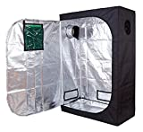 Cheap TopoLite 48″x24″x60″ 48″x24″X72″ 48″x36″x72″ 48″X48″x78″ Hydroponic Indoor Grow Tent Room for Indoor Plant Growing (48″x24″x72″ metal corner/ window)