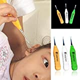 giveyoulucky Kid Baby Safe LED Flashlight Earpick Handle Health Ear Cleaner Earwax Remover Curette