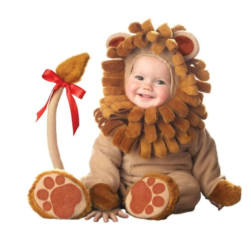 InCharacter Costumes Baby's Lil' Lion Costume, Brown, Large (18 (Girls Lion Costumes)