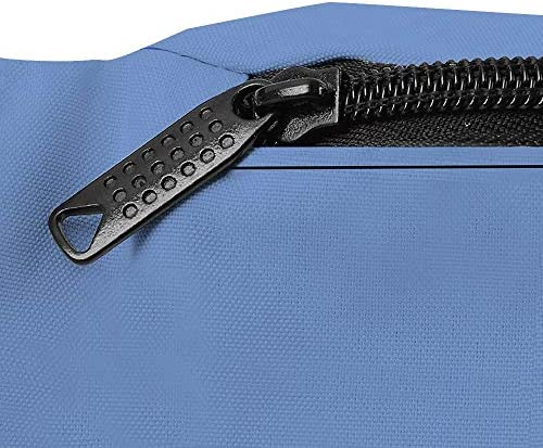 固体コーンフラワーブルー ウエストバッグ ショルダーバッグチェストバッグ ヒップバッグ 多機能 防水 軽量 スポーツアウトドアクロスボディバッグユニセックスピクニック小旅行