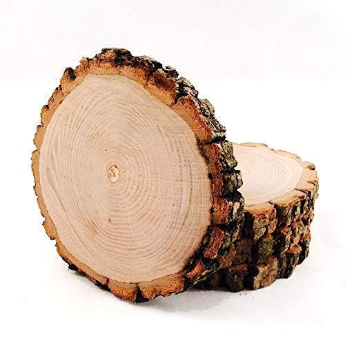 Amazon Com Bare Tree Wood Hand Cut Coaster With Bark Unsanded 4 Pack Natural Tree Wood Discs Cut From Already Down Wisconsin Tree Wood Branches 3 5 4 Diameter Cut 1 4 Thick Handmade