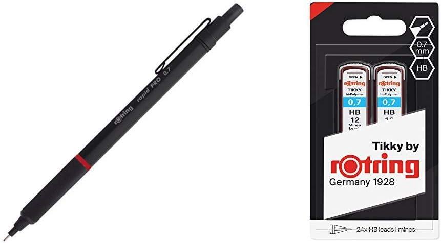rotring 600 Bleistiftminen   0,5 mm HB 4 x12