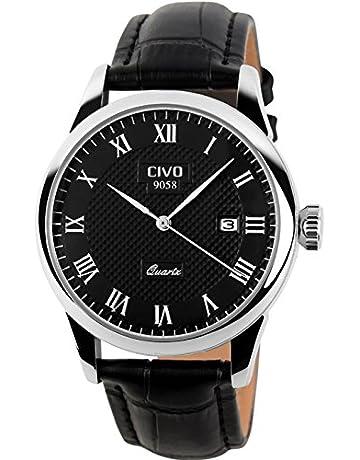 98b2685e3b7 CIVO Mens Watches Men Luxury Calendar Date Waterproof Wrist Watch Gents  Business Casual Fashion Simple Design