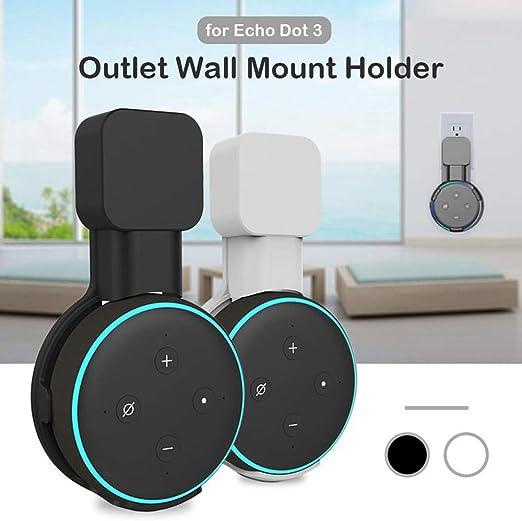 Color : Black iEAST Supporto per  Eco DOT 3 Generazioni Altoparlante Magnetico Base del Supporto Accessori Casa Intelligente A334C
