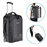 Neewer Convertible Rolling Camera Backpack for SLR/DSLR Cameras and Accessories (NW3300) –Black