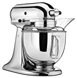 KitchenAid KSM152PSCR 5-Qt. Custom Metallic Series with Pouring Shield - Chrome
