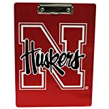 Nebraska Cornhuskers Logo Stationary Clipboard