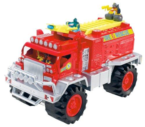 Mattel Matchbox Big Boots Blaze Brigade Fire Truck Vehicle