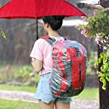 Beautyrain Disposable Bike Bag Rain Cover Viagdo Outdoor Disposable Large Bike Bag Cycling Cover Travel Raincover Backpack Mountain Bicycle Waterproof Rain Dust_Proof