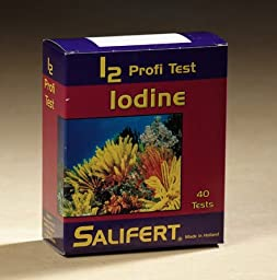 Salifert Iodine Test Kit - 40 Tests