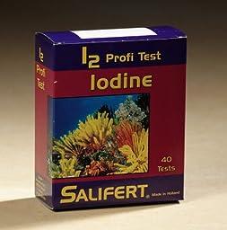 Salifert Iodine Test Kit - 40 Tests