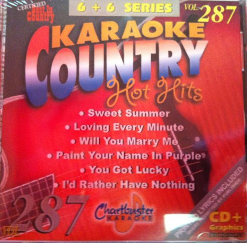 Chartbuster Karaoke Country Hot Hits Vol 287 Coty Sweet
