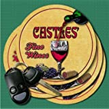 CASTLES'S Fine Wines Coasters - Set of 4 offers