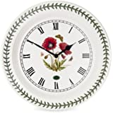 Amazon Com Portmeirion Botanic Garden Kitchen Wall Clock Kitchen Dining