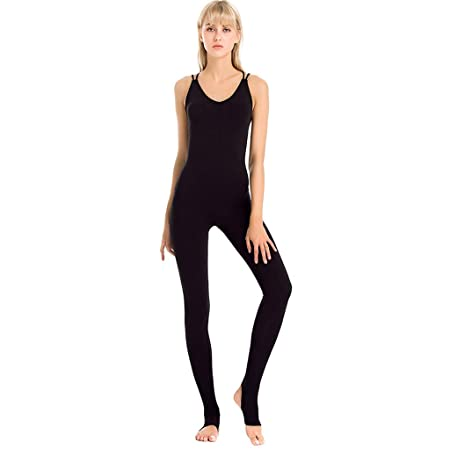 WYGH Mujer Deporte Yoga Mono Uno Trozo Ballet Danza Leotardo ...