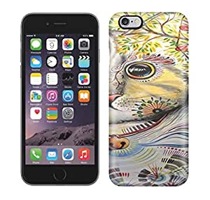 Running Gary Cat Art Painting Hard Phone Case For iphone 5s
