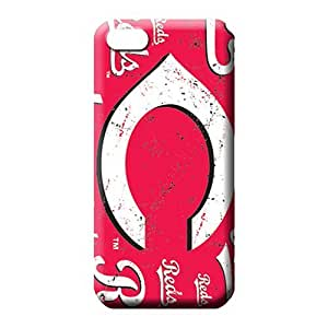 diy zhengiphone 5/5s Eco Package PC For phone Cases phone case cover cincinnati reds mlb baseball