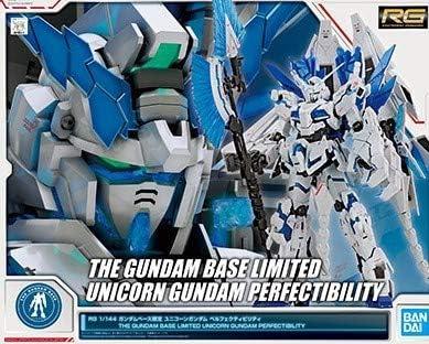 Amazon.com: RG 1/144 The Gundam Base Limited Unicorn Gundam Perfectibility Model kit: Toys & Games