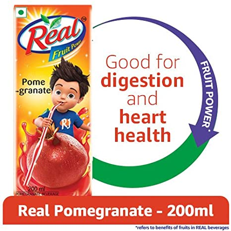 Real Fruit Power, Pomegranate, 200ml