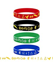 Harry Birthday Party Supplies Favors, 16PCS Bracelets for Wizard Potter Party Supplies Decorations, Magic Wizard School Theme Party Gifts
