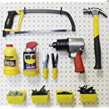 48 Pc. Peg Hook Kit- Pegboard Tool Storage - Craft Organizer Y-B