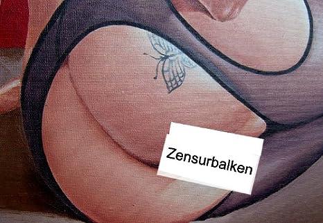 Erotic Art – eróticos pintura – encantador hermosa mujer desnuda ...