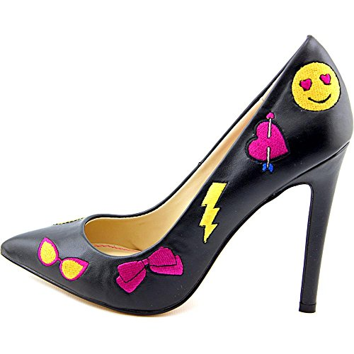 Betsey Johnson Mujeres Papii Pointed Toe Classic Pumps Negro