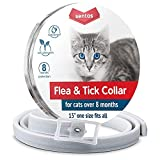 Sentas Flea Tick Prevention Cats | Cat Collar | Cat Flea Collars | Flea Tick Prevention | Flea Treatment Cats | Flea Protection | Pet Flea Collars | Fleas & Ticks Cats Flea & tick Control