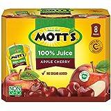 Mott's 100% Apple Cherry Juice, 6.75 fl oz pouches, 8 count (Pack of 4)