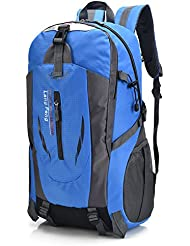 Hiking Backpack 40L Waterproof Mens and Womens Daypack for Outdoor, Camping, Travel, Sport, Climbing Mountaineering...