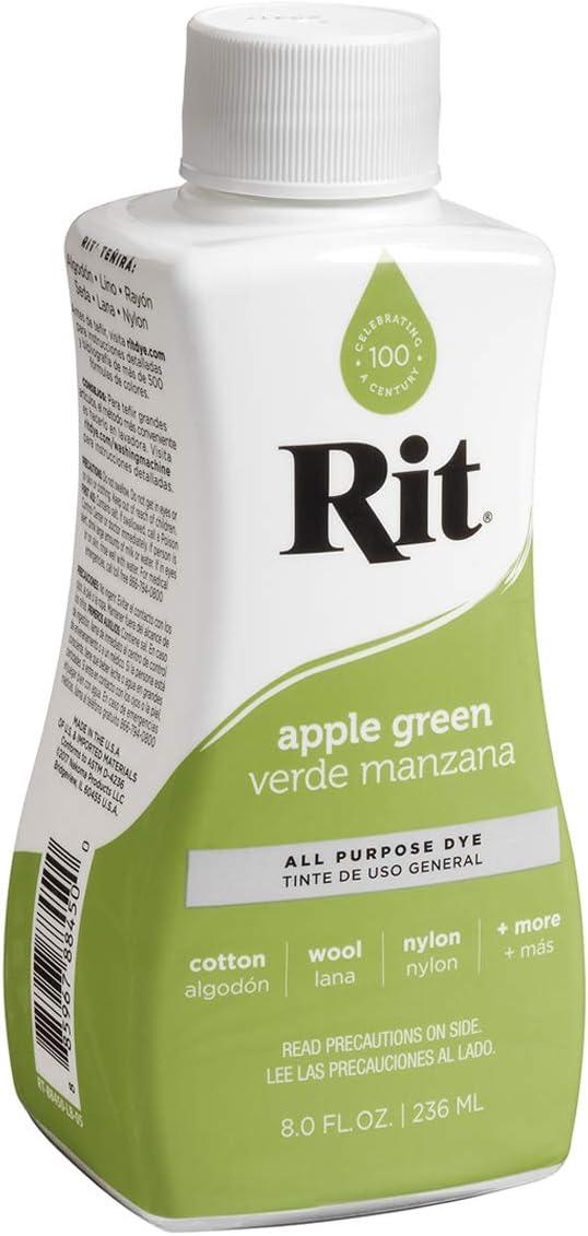 Rit All-Purpose Liquid Dye, Apple Green