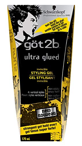Got2b Ultra Glued Invincible Styling Hair Gel, 6 Ounce 2