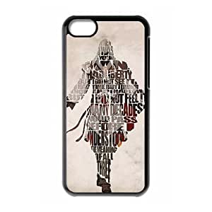Assassin'S Creed iPhone 5c Cell Phone Case Black SEJ6563033090287