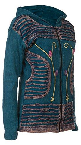 Michael Heinen - Sudadera con capucha - para mujer turquesa