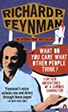 Front cover for the book What Do You Care What Other People Think? by Richard P. Feynman