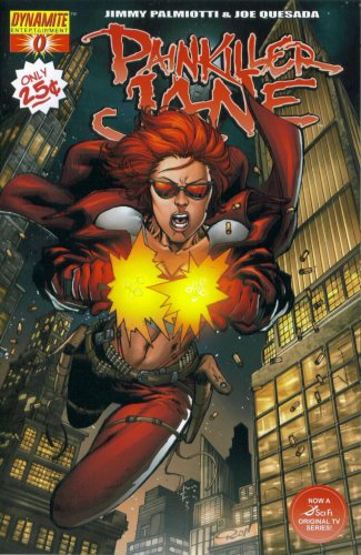 Download Painkiller Jane #0 (Ron Adrian Variant Cover - Dynamite Comic Book 2007) ebook