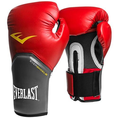 Everlast PRO STYLE ELITE TRAINING GLOVES RED 16 - Red Glove Everlast Boxing
