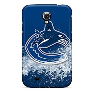 Best Hard Cell-phone Case For Samsung Galaxy S4 (pCX8535EvJm) Support Personal Customs Stylish Vancouver Canucks Pattern