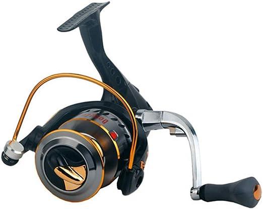 DONG Fishing Reel Spinning Reel 2.6: 1 Relación de Engranajes + 16 ...