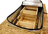 Hatchway Attic Stair Cover with Arma Foil Radiant Barrier