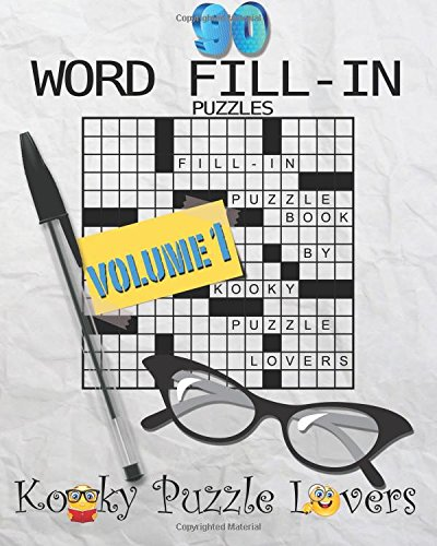 Word Fill Puzzle Book Puzzles