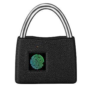 51stDFvliOL. SS300 FYLD Lucchetto biometrico Impronte digitali keyless, Serratura per Bagagli, Blocco da Viaggio - Adatto a Scuola…