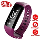 Smart Watch, Fitness Tracker, READ R5MAX Heart Rate Monitor Blood Pressure Bracelet Pedometer