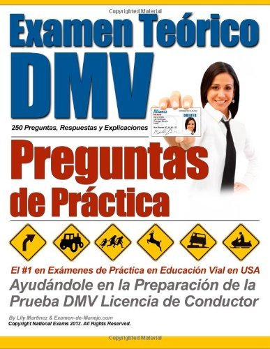 By Examen de Manejo Examen Terico DMV - Preguntas de Prctica (Spanish Edition) [Paperback]