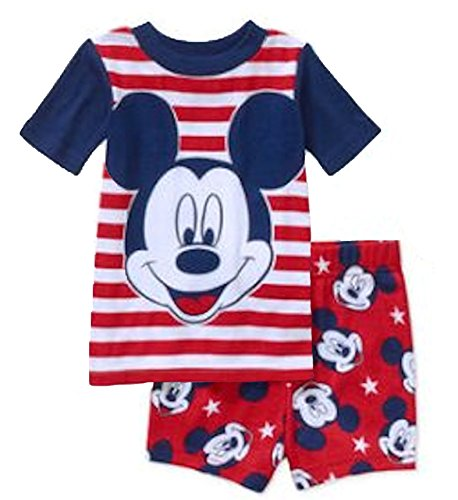Mickey Mouse Baby Boys Fourth of July 2 Piece Shirt for sale  Delivered anywhere in USA